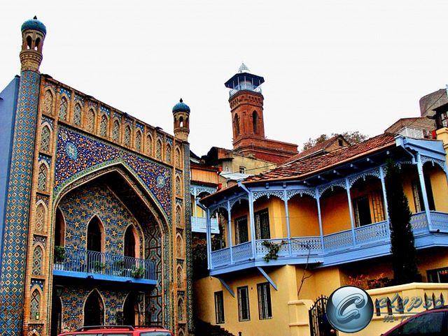 The Sulphur Baths in Tbilisi