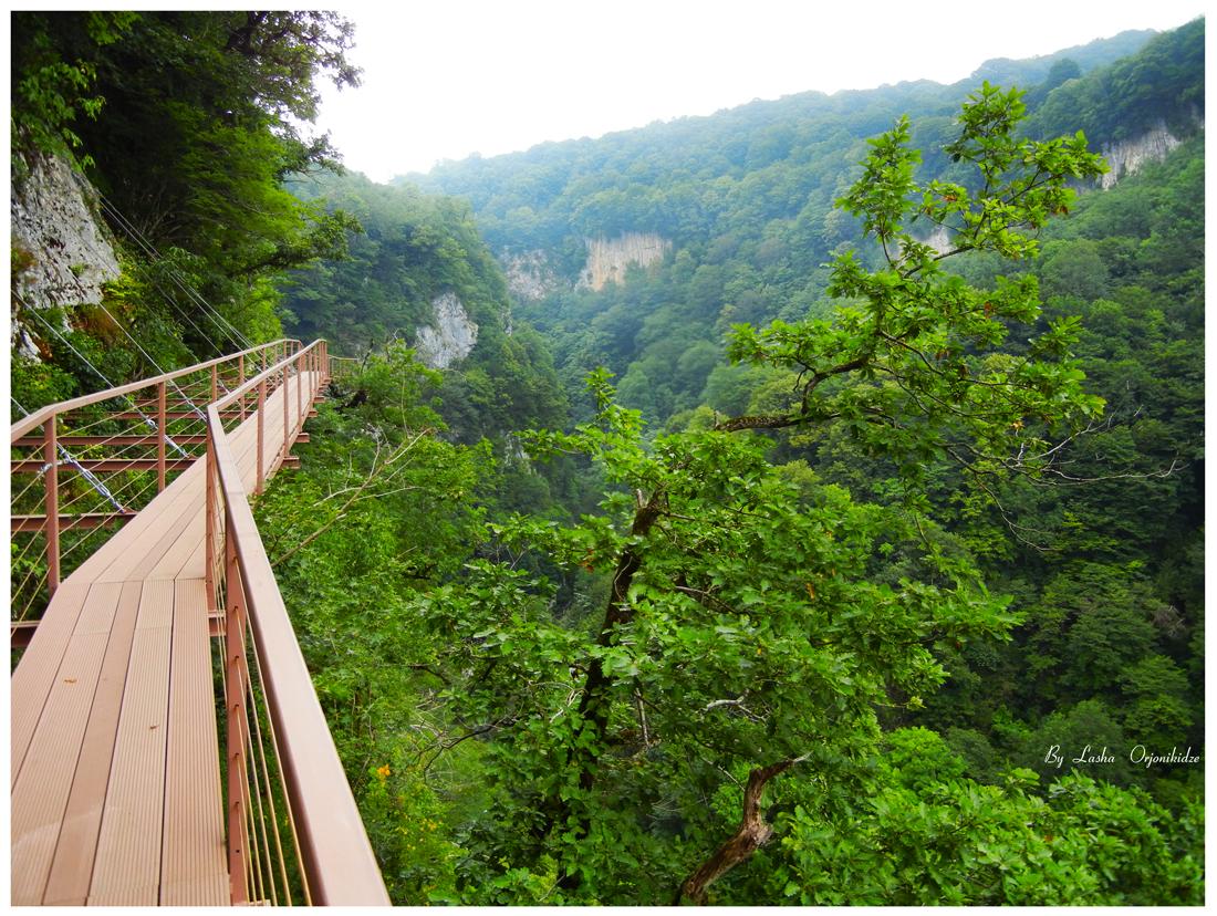 Georgia. Prometheus Cave and Okatse Canyon 67