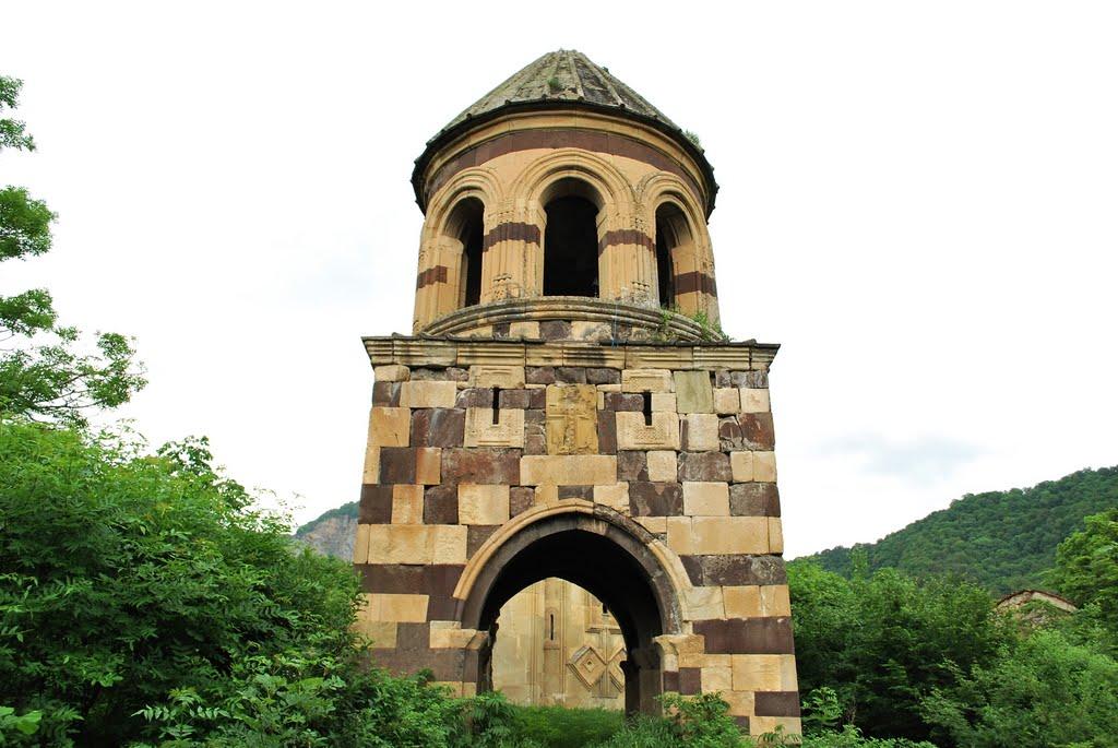 Gudarekhi Bell Tower by L.Gabelia