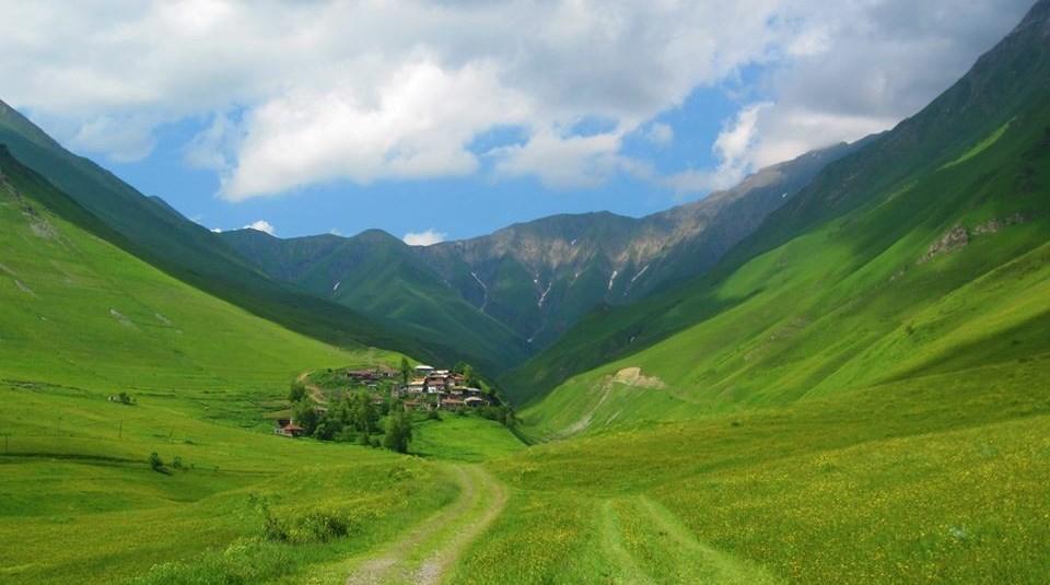 Beautiful village of Tskere